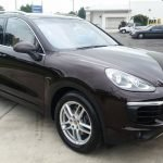 Porsche Cayenne New Car Paint Protection